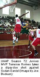 terrence romeo 5 8 135 pounds pointguard feu tamaraws this is a kid